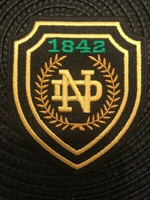 """Notre Dame Fighting Irish Vintage Embroidered Iron On Patch 3"""" x 2.5"""" Awesome"""
