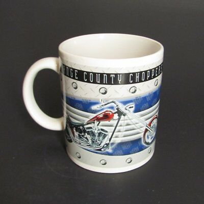 Orange County Choppers Coffee Mug Motorcycles Ceramic Cup Colorful
