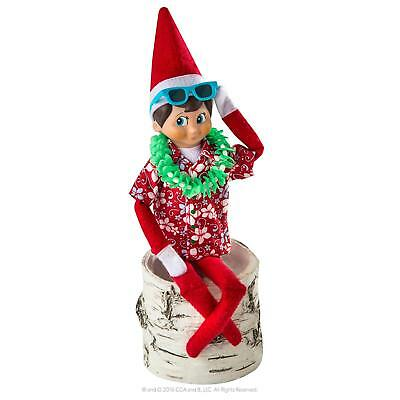ELF ON THE SHELF - Claus Couture Costume Holiday Hawaiian Shirt New