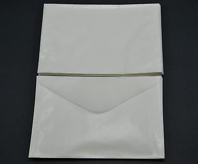 """lot of 50 # 4.5 GLASSINE ENVELOPES 3 1/8 x 5 1/16"""" GUARDHOUSE STAMP COLLECTING"""