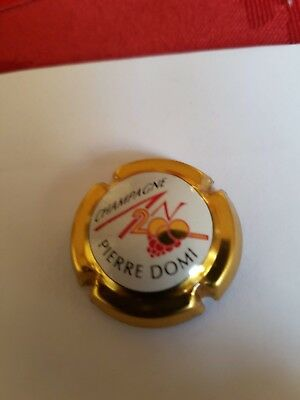 Capsule Champagne AN 2000 Pierre Domi Or