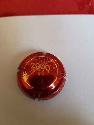 Capsule Champagne AN 2000 Rouge