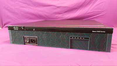 Cisco 2921 Integrated Services Router 2900 Series 3 Port Gigabit Router