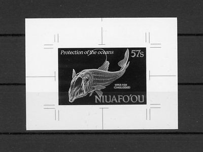 NIUAFOOU MONOCHROME PROOF PROTECT OCEAN VIPER FISH ONLY 20 MADE !! RARE h1915