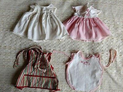 Vintage American Character Tiny Tears Dress Romper and Other Doll Clothes