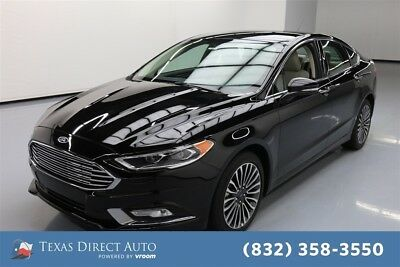 2018 Ford Fusion AWD Titanium 4dr Sedan Texas Direct Auto 2018 AWD Titanium 4dr Sedan Used Turbo 2L I4 16V Automatic AWD