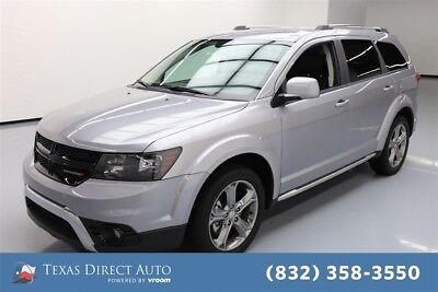 2017 Dodge Journey Crossroad Plus Texas Direct Auto 2017 Crossroad Plus Used 3.6L V6 24V Automatic FWD SUV Premium