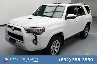 2016 Toyota 4Runner Trail 4dr SUV 4WD Texas Direct Auto 2016 Trail 4dr SUV 4WD Used 4L V6 24V Automatic 4WD SUV
