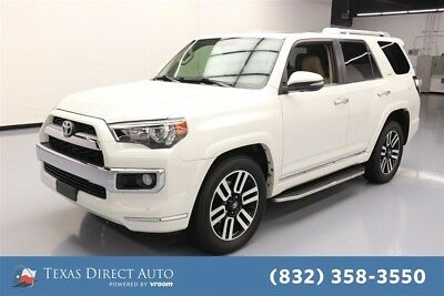2014 Toyota 4Runner 4x2 Limited 4dr SUV Texas Direct Auto 2014 4x2 Limited 4dr SUV Used 4L V6 24V Automatic RWD SUV