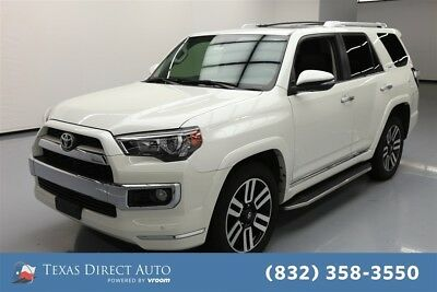 2016 Toyota 4Runner 4x2 Limited 4dr SUV Texas Direct Auto 2016 4x2 Limited 4dr SUV Used 4L V6 24V Automatic RWD SUV