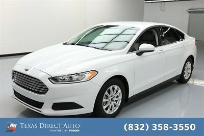 2016 Ford Fusion S Texas Direct Auto 2016 S Used 2.5L I4 16V Automatic FWD Sedan
