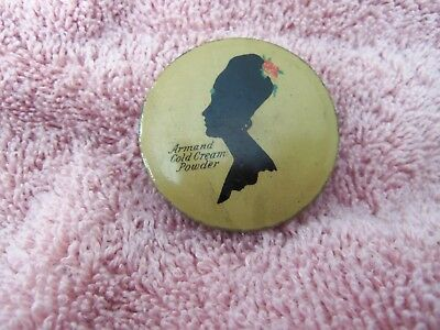 Armand Bouquet Complexion Powder  Tin Litho Can Make Up