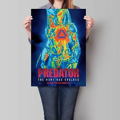 Predator Movie Poster Film Promo A2 A3