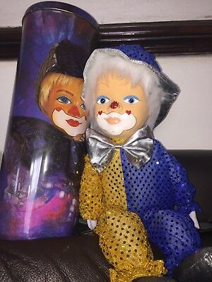 Dolls & Bears Porcelain Dolls Kasma Collectable Hand Painted Clown Doll