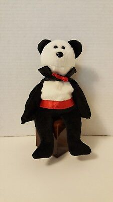 Spooky Cool ~ VAMPIRE Baron Van Pyre ~ Plush Beanie Baby Toy Ready for HALLOWEEN