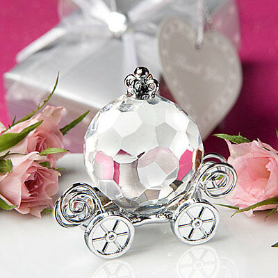 Choice Clear Crystal Collection Pumpkin Coach - Gift Boxed Ornament