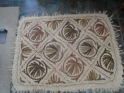 lovely traditional vintage hand crafted Kashmir rug   WOW  TAKE A LOOK