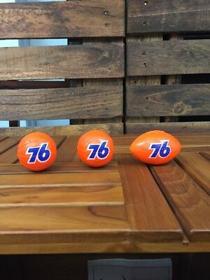 Vintage 3 UNION 76 Football Baseball Basketball Antenna Balls Unused New