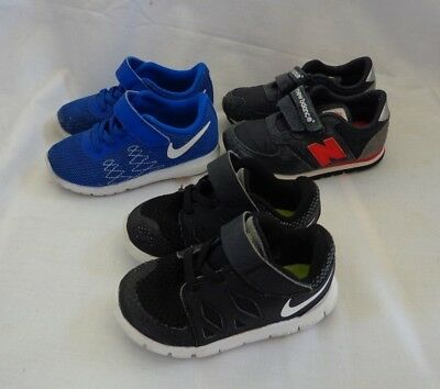 d5208374a74 Lot of 3 Pairs Toddler Boy Size 7 Shoes Nike Flex   Nike Free   New