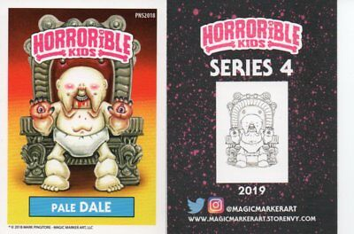 Horrible Kids Pale Dale Promo Card Philly Non Sports Card Show