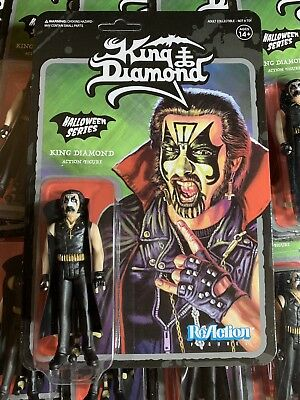 King Diamond Halloween Series Super7 ReAction Figure 2018 Heavy Metal NYCC SDCC
