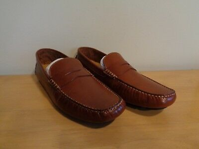 718a57f722d Cole Haan Mens Howland Penny Loafer Size 11.5 US Medium Width Saddle Tan  Leather 1 of 5FREE Shipping ...