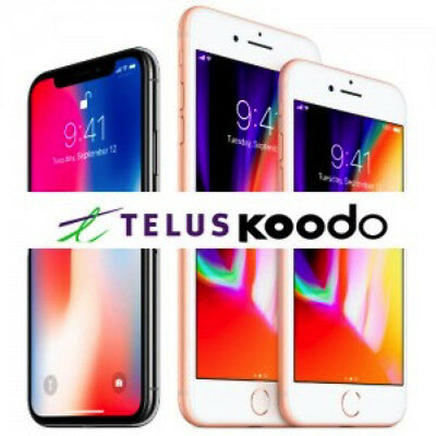 TELUS OR KOODO - SAME DAY iPHONE UNLOCK - 4 4s 5 5c 5s 6 6s 6+ 6s+ SE 7 7+ 8 8+