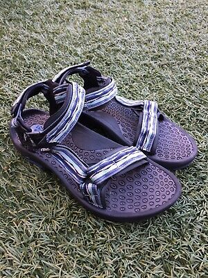 49a964212736ed TEVA HURRICANE 6800 Blue Sport Water Sandals Shoes Women s Size 9.5 ...