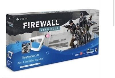 PS4 Vr Aim Controller &PlayStation4 Firewall Zero Hour Bundle,New Fast Shipping
