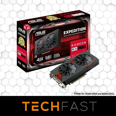 ASUS Expedition Radeon RX570 OC Edition 4GB HDMI Mining Gaming Graphics Card