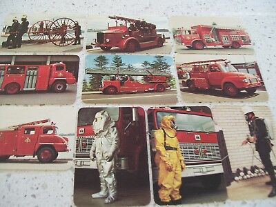 NSW FIRE BRIGADE .. NSWFB  ..  TRADING CARDS NOs 11-20