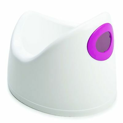 The Neat Nursery Co. Child / Toddler Basic Toilet Training Potty White / Pink