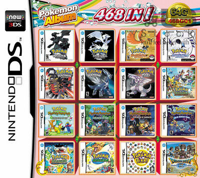 DS NDS NDSL NDSi 3DS 2DS XL Video Games Game Multi Cartridge Card For Nintendo