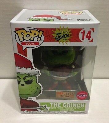 Funko POP! Dr. Seuss The Grinch 14 Flocked Box Lunch Exclusive