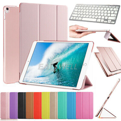 For iPad 4th 3rd 2nd Gen Keyboard Magnetic Folio Leather Smart Case Stand Cover