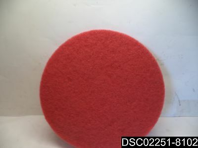 """Qty= 5: RENOWN® BUFFING PAD, RED, 20"""", REN02048"""