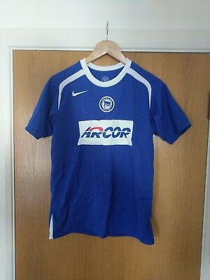 Hertha Berlin Home Kit Football Childs XL (Small or extra small)