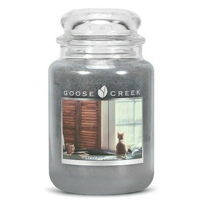 Staying Home Goose Creek 24oz Scented Candle Jar2 wicks