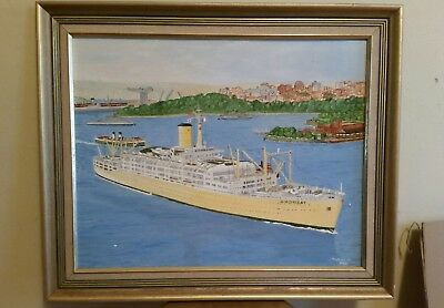 "Original Oil painting by John Robinson( 1929-2009) - '""""Oronsay 2"""