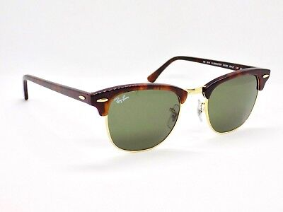 Ray Ban Clubmaster Classic RB3016 W0366 49mm Lens & Case