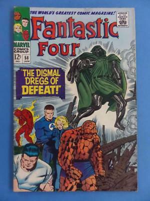 Fantastic Four 58 1967 Classic Dr Doom With Surfer's Powers!