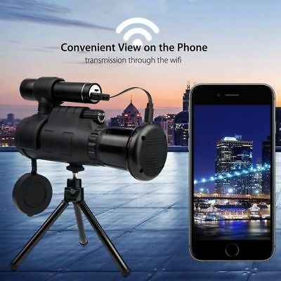 Wireless WIFI HD Outdoor 40X60 IR Night Vision Device Telescope For IOS/Android