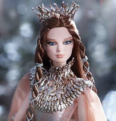 authentic first look best wholesaler FARAWAY FOREST LADY of the White Woods Barbie. Limited ...