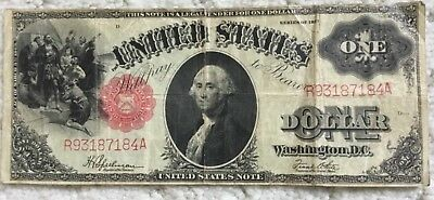 """$1.00 United States Note """"Sawbuck"""" Series of 1917"""