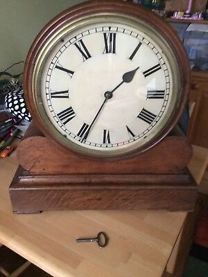 Victorian Large Gallery Clock with eight day fusee movement