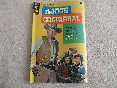 The High Chaparral #1 Comic Book - 1968 Gold Key Silver Age Western Vg/fn