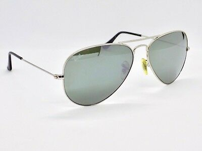 Ray Ban Aviator Classic Flash Lens RB3025 W3277 58mm & Case