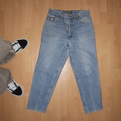 True Vintage Levis 726 Tapered Jeans 32/30 501 Silvertab Made in Belgium 80er