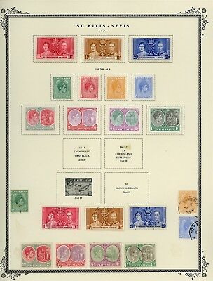 ST KITTS & NEVIS Album Page Lot #SPEC5 - SEE SCAN - $$$