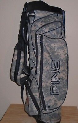 Ping Hoofer Vantage Camo Army Military Stand Golf Bag